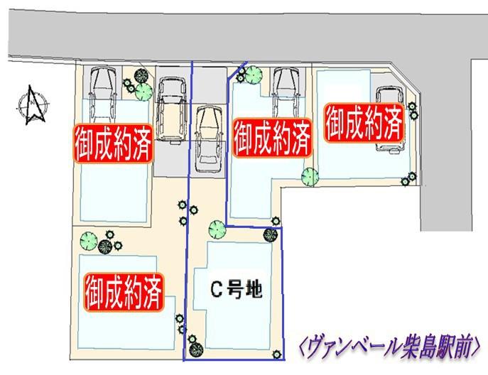 20180311-ヴァンベール柴島駅前区画図(残C号)